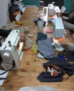 atelier couture et découverte machine à coudre