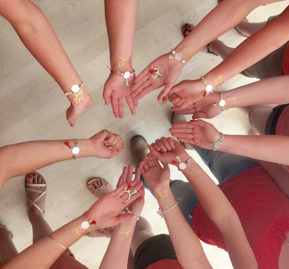enterrement de vie de jeune fille atelier bijoux